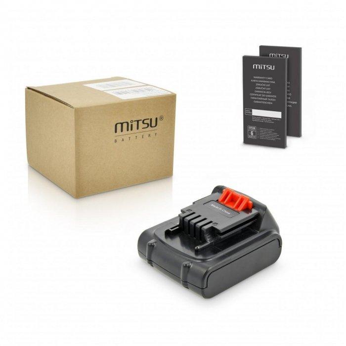 Baterie Mitsu Black&Decker ASL146, EPL14