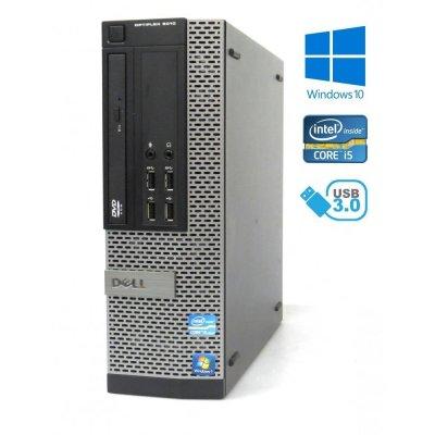 Dell OptiPlex 9010 SFF, i5-3470/3.20GHz, 8GB RAM,480GB SSD, DVD-ROM, Windows 10