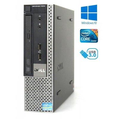 Dell OptiPlex 7010 USFF, i5-3470S 2.90GHz, 4GB, 120GB SSD,DVD-ROM W10 Pro