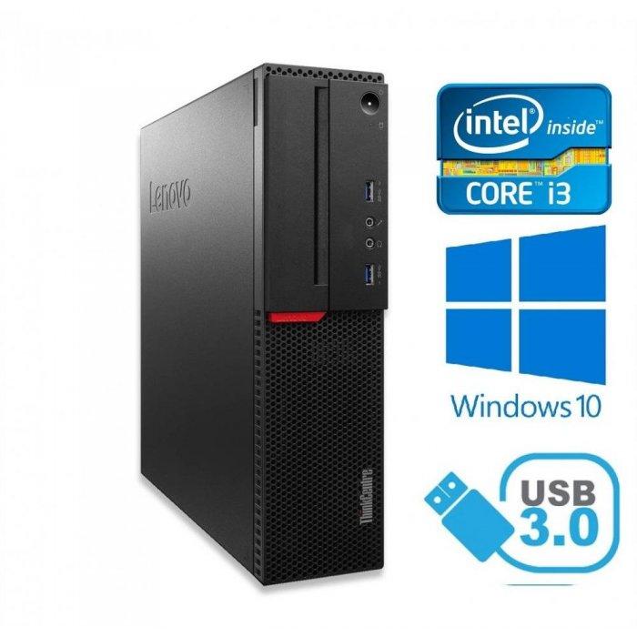 Lenovo ThinkCentre M710s Core i3 6100 3,70Ghz 8GB RAM 240GB SSD HDD