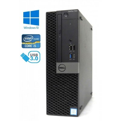 Dell Optiplex 7050 SFF - Intel i5-6400T 2.20GHz, 8GB RAM, 500GB M.2 + 500GB HDD, Windows 10