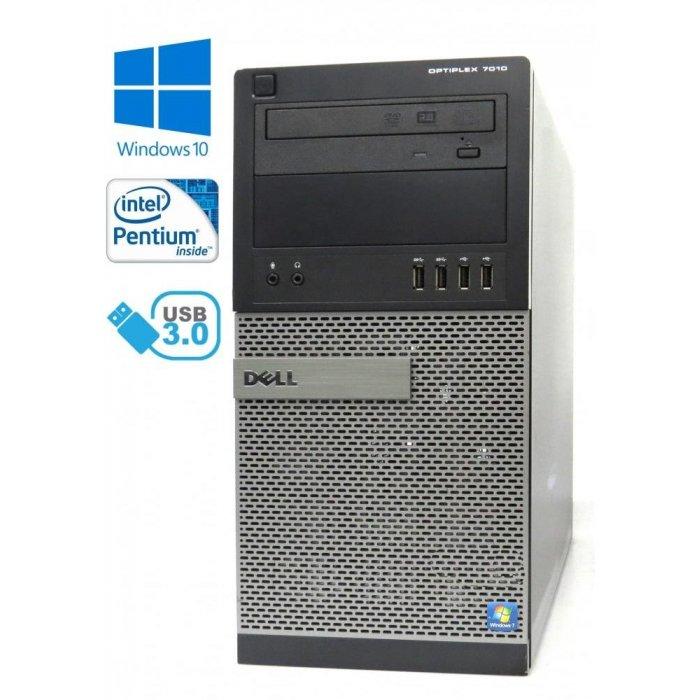 Dell Optiplex 7010 MT - Pentium G2030/3.00GHz, 4GB RAM, 500GB HDD, DVD-ROM, Windows 10
