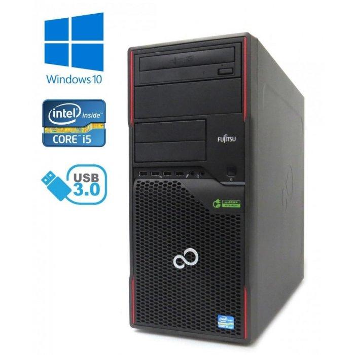 Fujitsu Esprimo P910 - Intel i5-3470/3.20GHz, 8GB RAM, 500GB HDD, DVD-RW, Windows 10