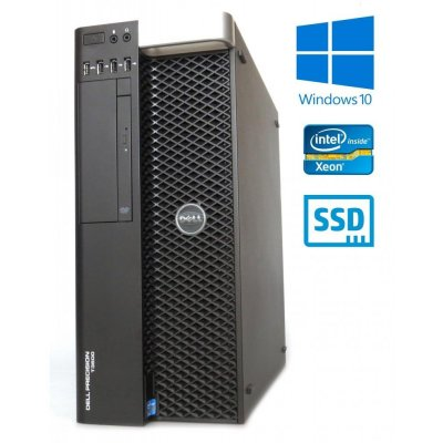 Dell Precision T3600 E5-2665 8-Core 16GB RAM 240GB SSD Quadro K620 2GB DVD W10