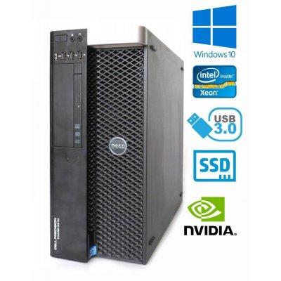Dell Precision T7810 - 2x Xeon E5-2673 v3, 32GB DDR4, 960GB SSD, NVIDIA Quadro K4200 4GB, W10P
