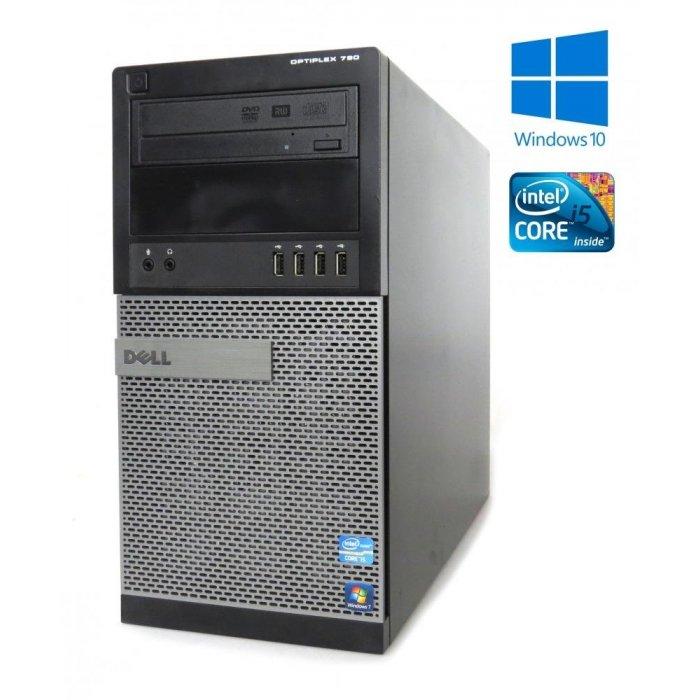 Dell OptiPlex 790 -MT- Intel i5-2400, 4GB RAM, 256GB SSD, DVD-RW, W10P