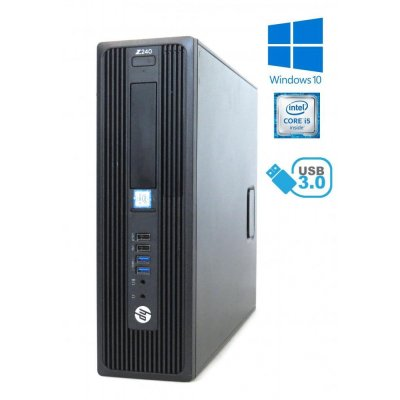 HP Z240 SFF - i5-6600, 32GB RAM, 480GB SSD, DVD-RW, Windows 10