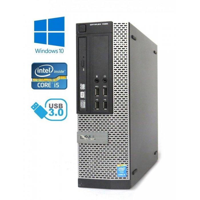 Dell Optiplex 7020 SFF - Intel i5-4570/3.20GHz, 16GB RAM, 240GB SSD, DVD-ROM, Windows 10