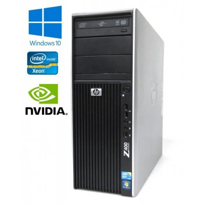 HP Workstation Z400 - Xeon Hexa-Core W3690 3.46GHz, 12GB RAM, 300GB HDD, Quadro K2000