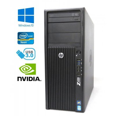 HP Z420 Workstation - Xeon E5-1650, 8GB RAM, 1000GB, Quadro 4000, Windows 10