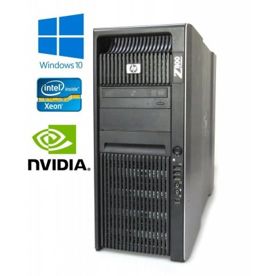 HP Workstation Z800 - 2x Xeon X5687 3,60Ghz, 24GB, 300GB Quadro K2000