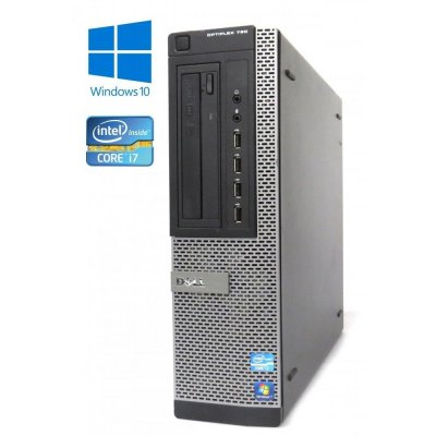 Dell OptiPlex 790 - DT- Intel i7-2600/3.40GHz, 8GB RAM, 240GB SSD, DVD-RW, Windows 10