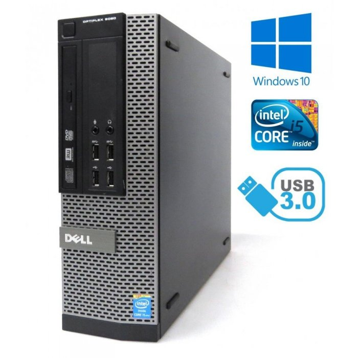 Dell Optiplex 9020 SFF - i5-4590 / 8GB RAM / 500GB/ Windows 10