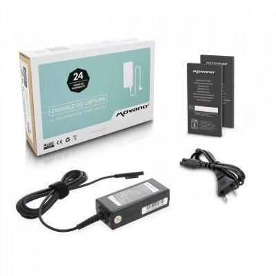Nabíječka movano tablet microsoft surface pro - 15v 2.58a (multipin)
