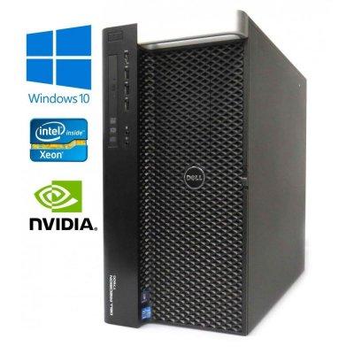 Dell Precision T7600 - Octa Core E5-2687W 64GB RAM 480GB SSD + 500GB Quadro K5000 4GB W10P