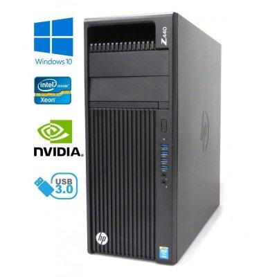 HP Z440 Workstation - Xeon E5-2673 v3 (12-core), 32GB, 512GB SSD + 500GB HDD, Quadro K2200, W10