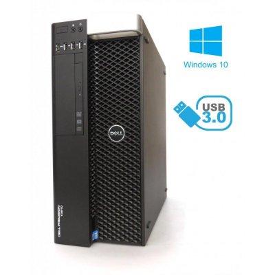 Dell Precision T3610 E5-1620 v2 3,70Ghz 16GB RAM 480GB SSD Radeon HD6850