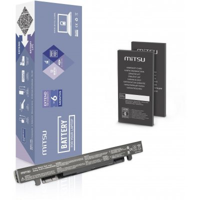Baterie Mitsu Asus X550, A450, F450, K550 (4400 mAh)
