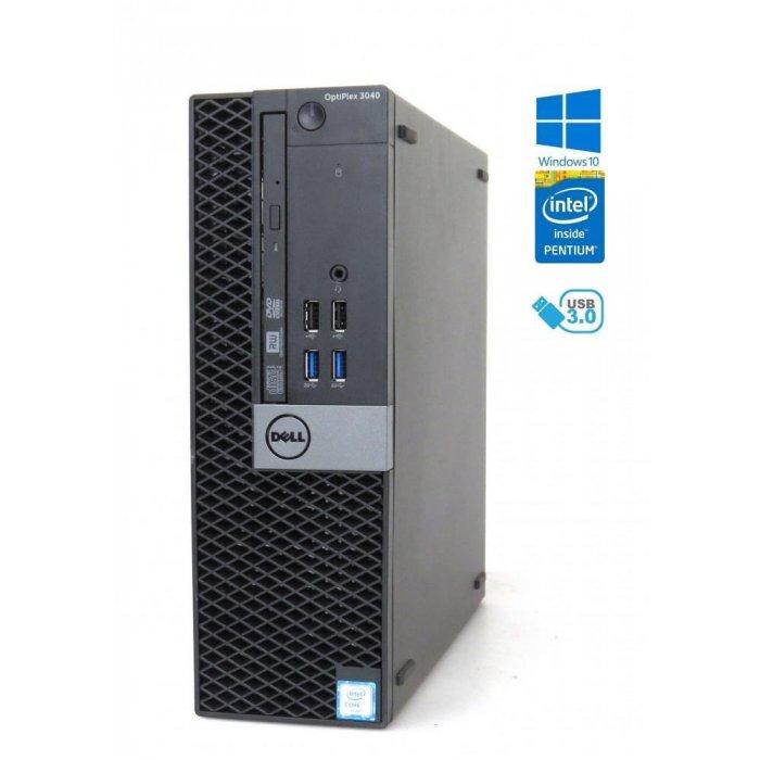Dell Optiplex 3040 SFF - Intel 3,30GHz - 8GB RAM - 480GB SSD - Windows 10