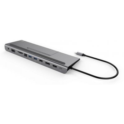 Dokovací stanice i-tec USB-C Metal Triple Docking Station